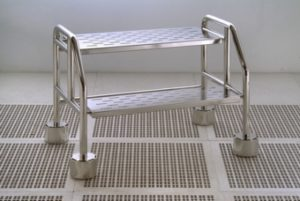 Cleanroom 2 Step Ladder