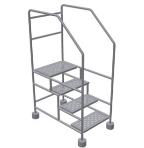 Cleanroom 4 Step Ladder