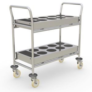 Cleanroom Chemical Transport Cart