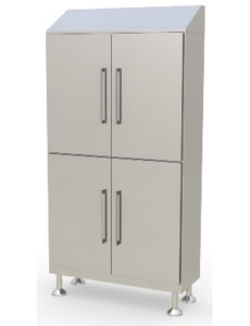 Cleanroom Full Length Cabinet - 4 Doors
