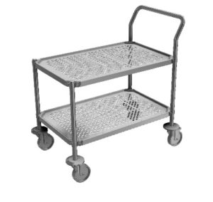 Cleanroom Trolleys - Perforated