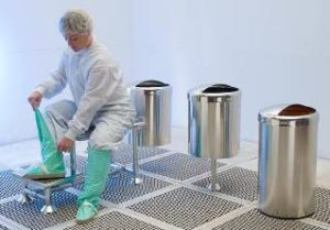 Cleanroom Waste Receptacles