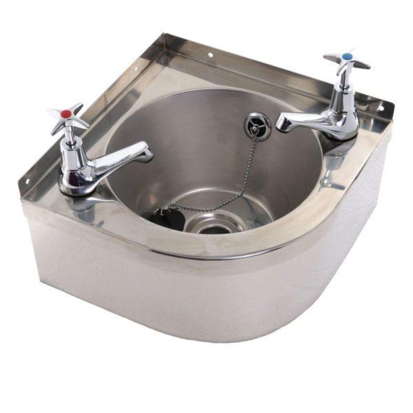 Corner Wash Basin 4