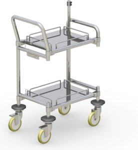 Particle Counter Transport Trolley