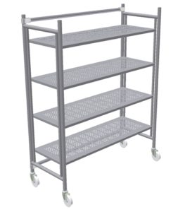 Shelving Units - On Casters