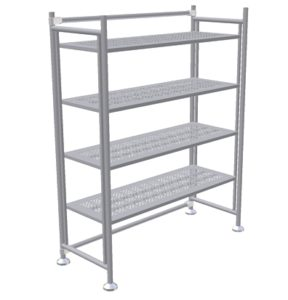Shelving Units - On Leveler Legs