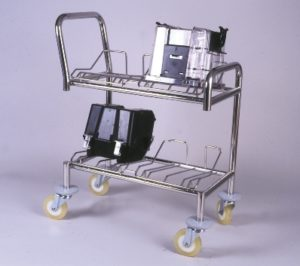 Wafer Transport Cart - 4 nests for 8 inch wafers