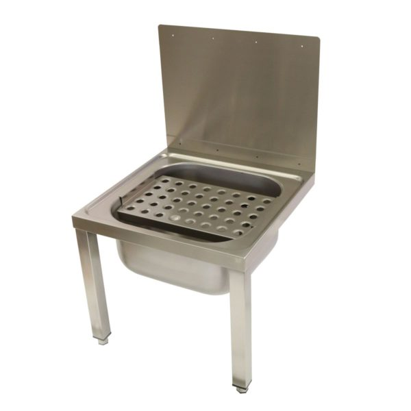 Wall Mounted Bucket Sink With Legs 283 1