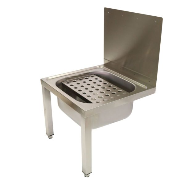 Wall Mounted Bucket Sink With Legs 283 3