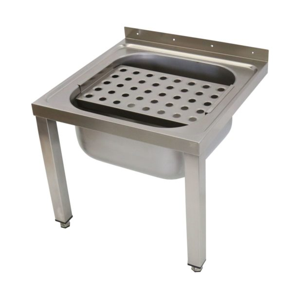 Wall Mounted Bucket Sink With Legs 283 4