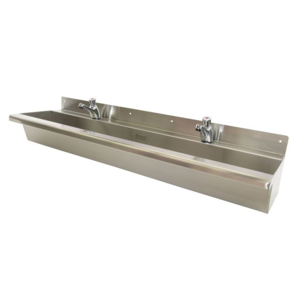 Wall Mounted Compact Wash Trough 1