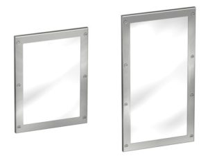 FRAMED STAINLESS STEEL MIRROR-675