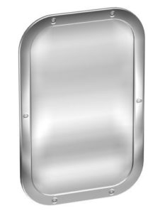 STAINLESS STEEL SECURITY MIRROR-677