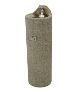 CONCRETE OUTDOOR DRINKING FOUNTAIN-1049