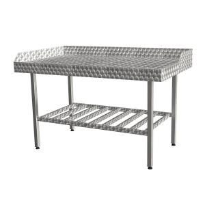 Filling Table With Storage Rack -1007