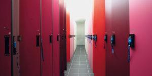 LOCKER SYSTEM TYPE R - Wardrobe locker -1204
