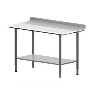 Hygienic Design Work Table, Upstand, Insert, FB -995