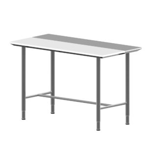 Hygienic Design Work Table, Insert, H-Strut -971