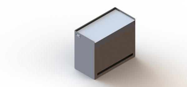 Dispenser Box With Transverse Aperture-1179